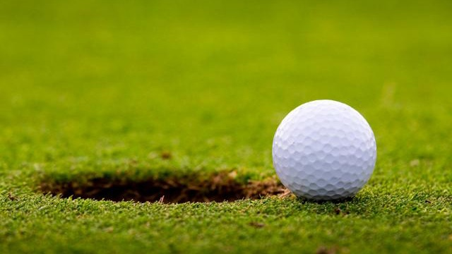 Generic Golf Ball And Hole