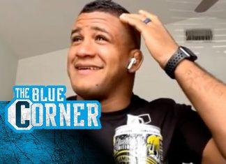 A golf club to his head didn't keep Gilbert Burns away from UFC 264