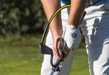 Improve your golf swing with a practical training device on offer