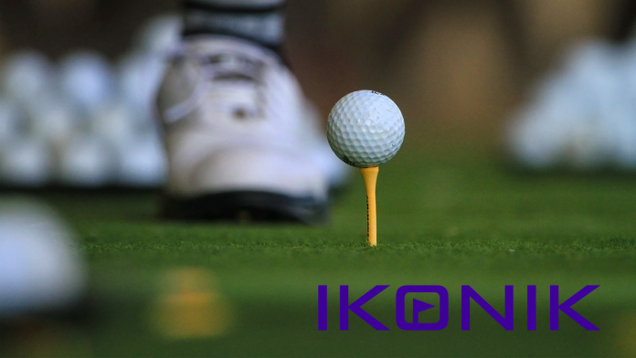 The new Ikonik golf training platform enables students to control the process