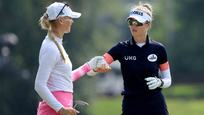 No surprise, Kordas shares early lead at Dow GLBI |  LPGA