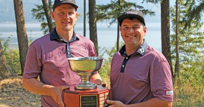 Kelowna golf pros win PGA BC Pro-Assistant Championship