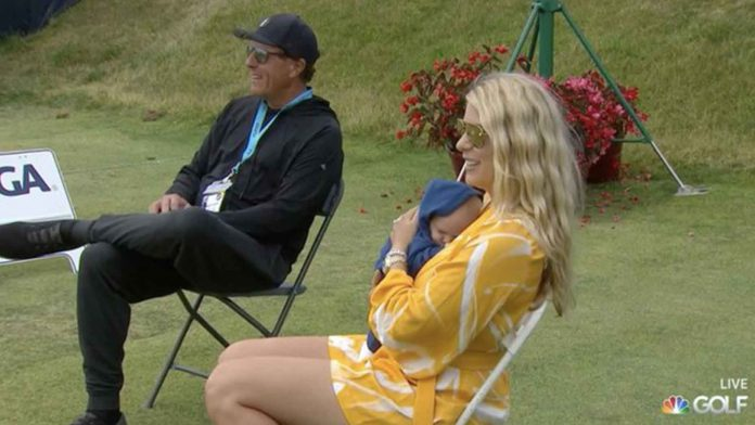 How Phil Mickelson relaxed Jon Rahm's wife at the US Open