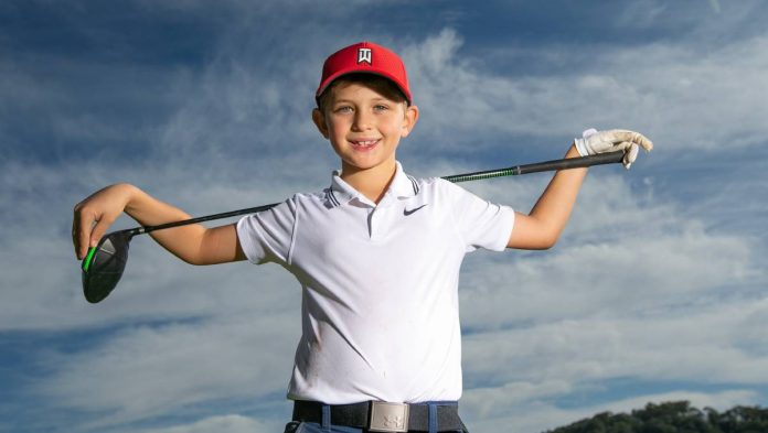 Is Jack Castle the next Tiger Woods?  His golf coach thinks so    The Canberra times