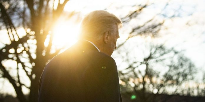In the final days of Donald Trump in the White House and his plans for a comeback