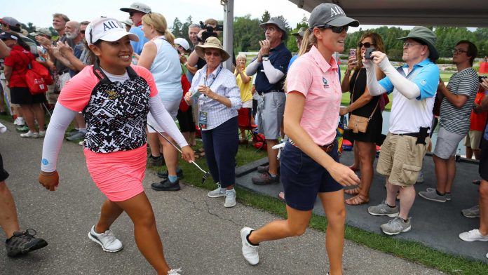 Clanton and Suwannapura stand up for the defense of Dow Crown |  LPGA