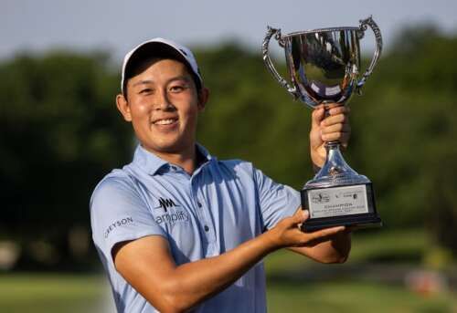 Medfords Wu Earns First Victory and Secures PGA Tour Ticket - Medford News, Weather, Sports, Breaking News