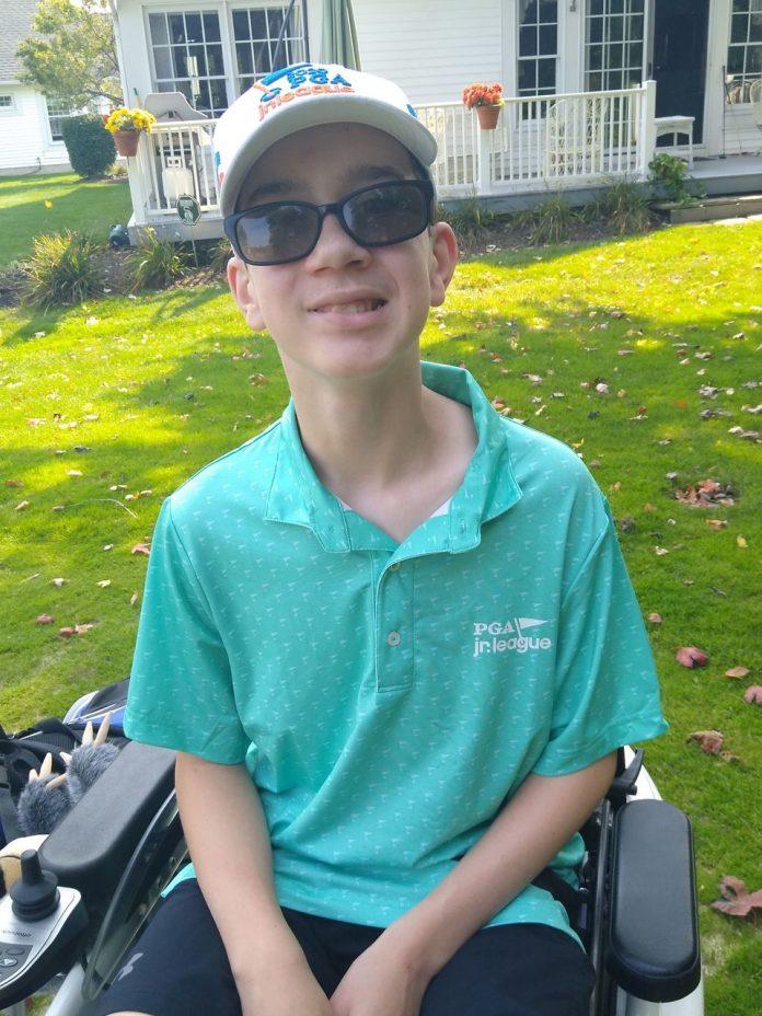 Teen beats chances, plays in junior PGA