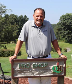 Jim LeBlanc is enjoying his sophomore season as a professional golfer at Quail Hollow Golf Course and Country Club in Oakham.