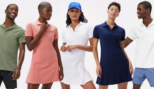 Outdoor Voices remixes the famous sports apparel for golf - and releases a men's polo |  Golf equipment: clubs, balls, bags