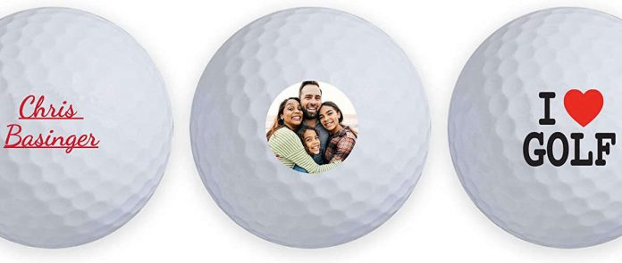 Personalized golf balls do not improve your drive, but they make the game much more enjoyable