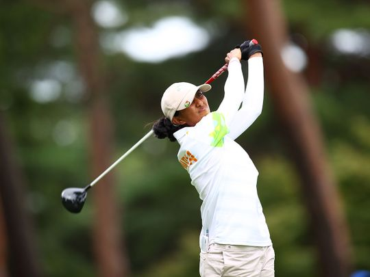 Aditi Ashok came fourth in the Olympic golf tournament