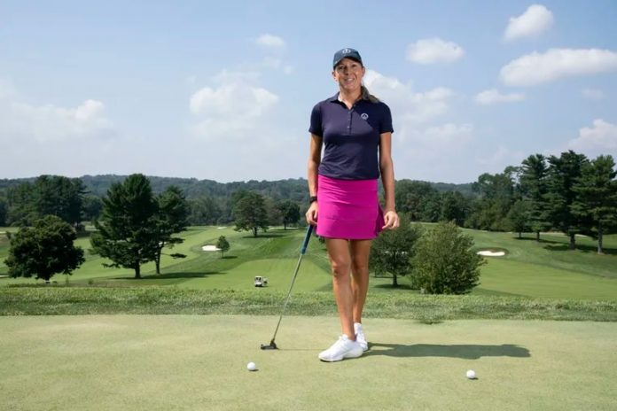 Ashley Grier hopes her path encourages girls to pick up golf.