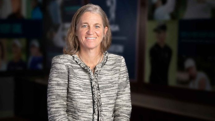 The new LPGA commissioner Mollie Marcoux Samaan reveals her top priorities