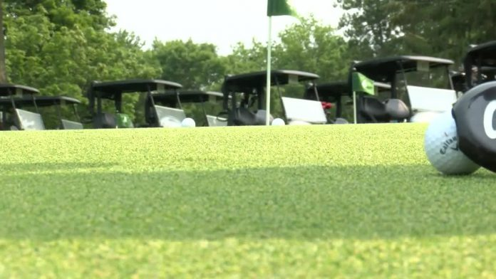 More golfers on the green last year