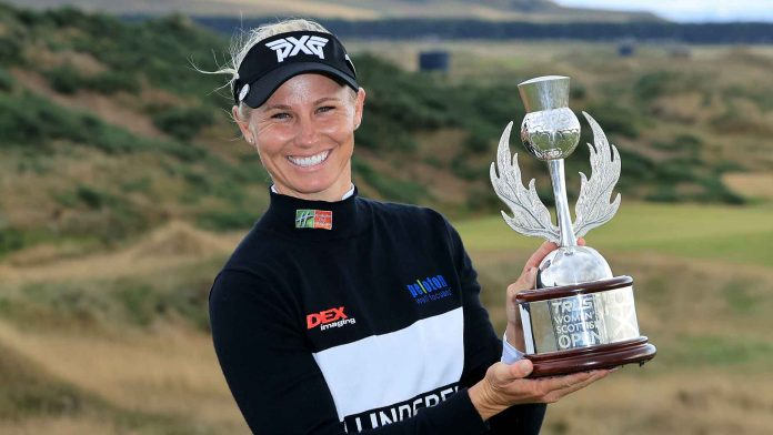 How Ryan O'Toole's focus on fitness led her to her first LPGA win