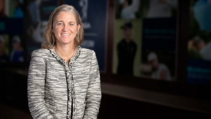 Welcome aboard AQ and A with LPGA Commissioner Mollie Marcoux Samaan    LPGA