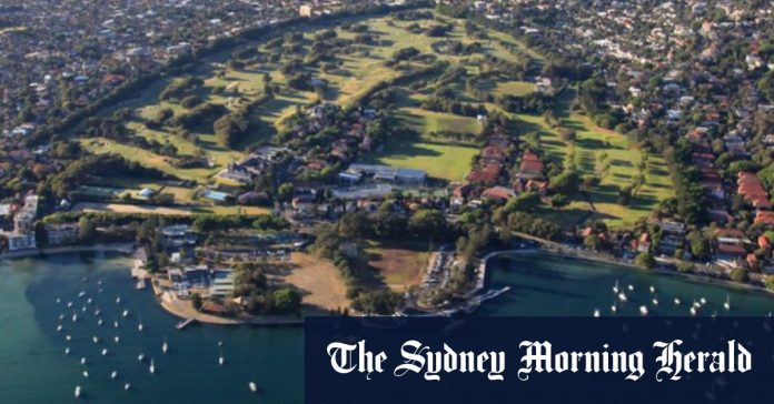 Inside the golf club that suggested members use water taxis to reach the 5km rule