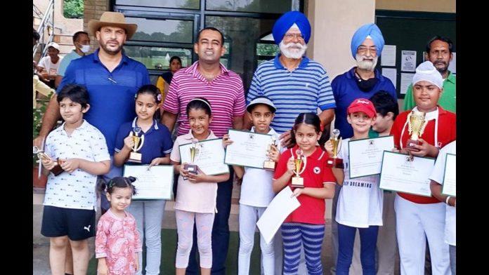 Junior golf meeting in Chandigarh