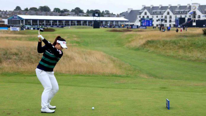 The positive attitude of Moriya Jutanugarn contributes to the second round 67    LPGA
