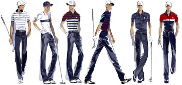 US reveals team uniforms for the 43rd Ryder Cup