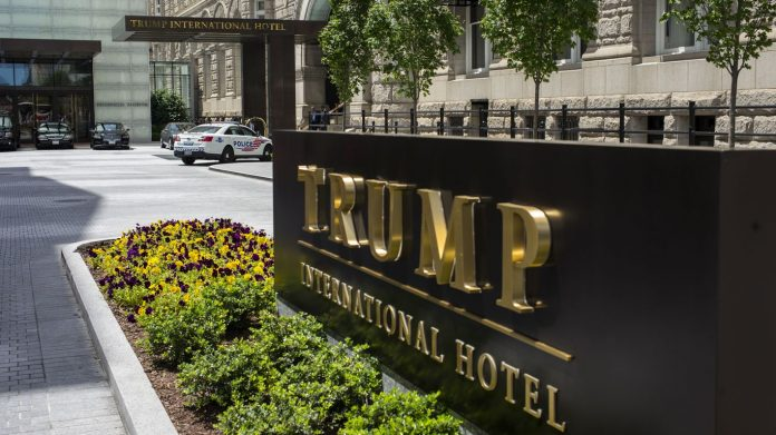 Trump in advanced talks about the sale of the DC hotel