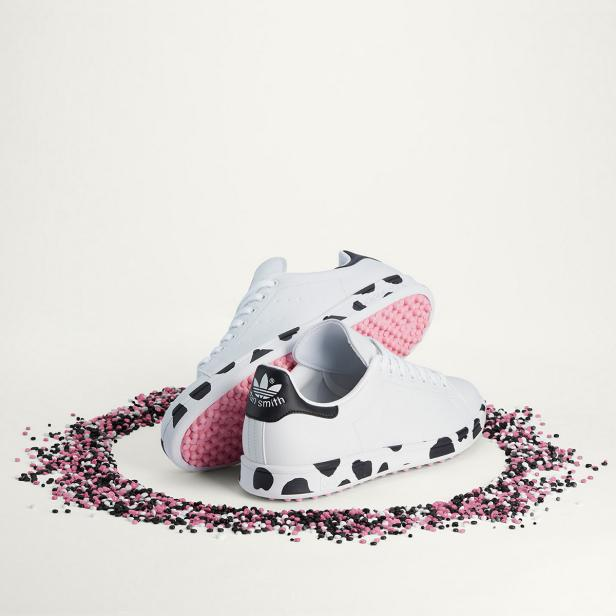 Adidas Releases Stan Smith Cow Print Golf Shoes To Celebrate The Ryder Cup Host State |  Golf equipment: clubs, balls, bags