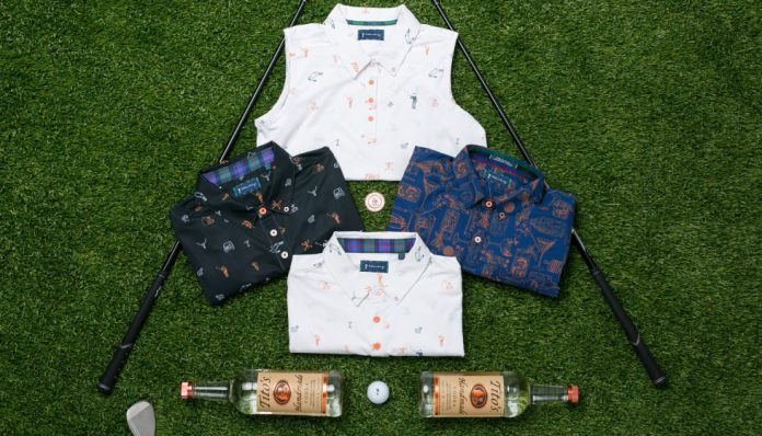Austin companies hit hole-in-one with new Tito-inspired golf apparel