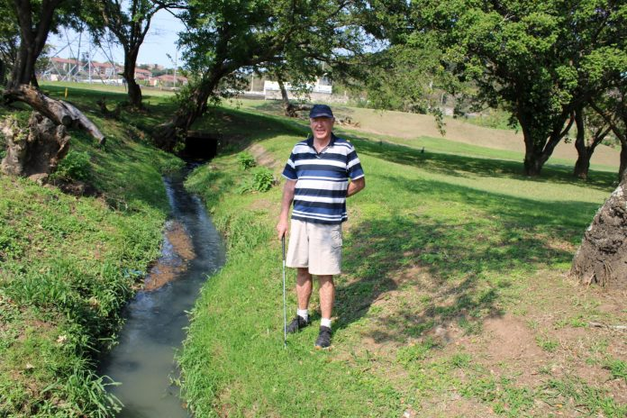 WATCH: Potential sewage pollution worries golfers