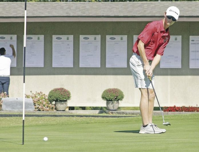Region 1 boys golf tournament;  Calloways Poston, Murray Highs Kelly narrowly miss out on qualifying for next week's state tournament    Universities