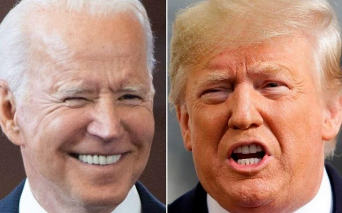 Biden casts a not-so-subtle shadow on Trump without even saying his name