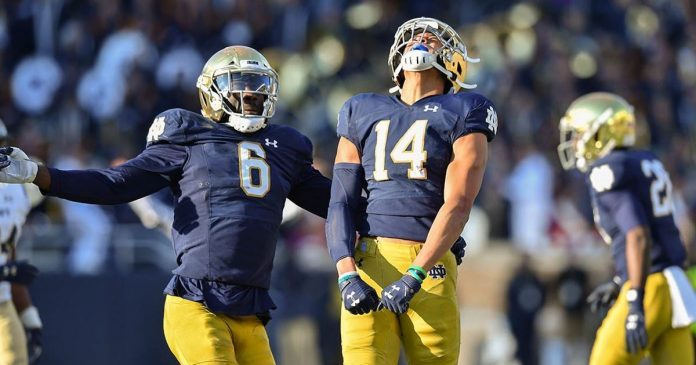 Notre Dame's Kyle Hamilton takes everyone on a tour of South Bend