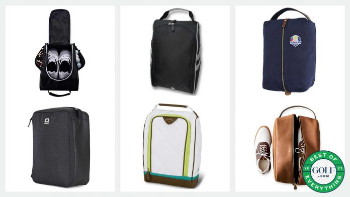 6 golf shoe bags that are both functional and stylish