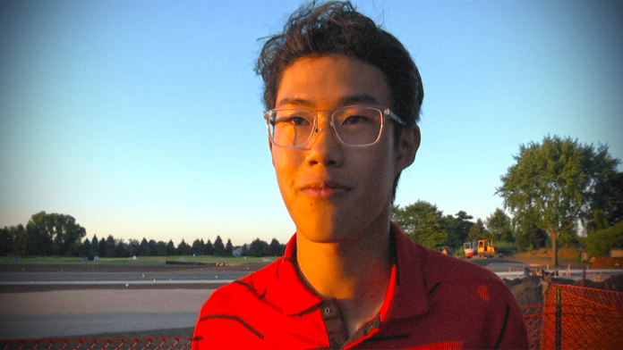 Central golfer Harvey Wang makes a world of difference