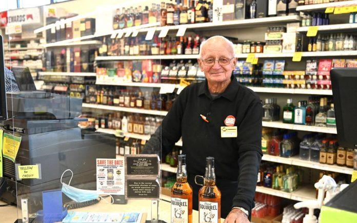 Jimmy Lommel still enjoys work at 90