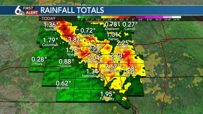 FIRST ALARM: Summary of Monday night's storms