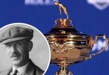 How Abe Mitchell, the man in charge of the Ryder Cup trophy, was signed by media tycoon Lord Northcliffe at Broadstairs' North Foreland Golf Club