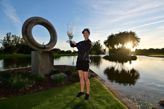Madelene Sagstrom won the 2020 Gainbridge LPGA tournament in Boca Rio.