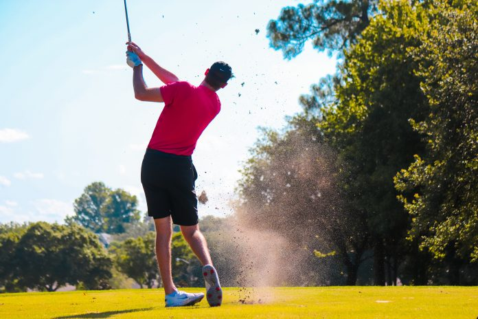 prepare for round of golf with friends