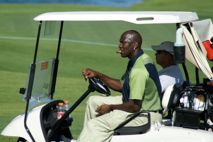 Michael Jordan invests in Golf Training Tech Company