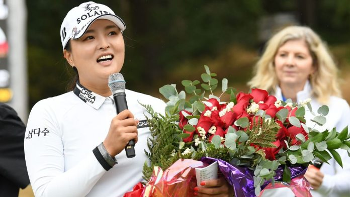 Jin Young Ko wins the rain-shortened Cambia Portland Classic for the second victory in the last 3 LPGA Tour starts