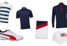 Buy fantastic USA-themed Ryder Cup gear in our Pro Shop