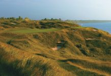 Detailed strategy for playing the 12th hole in Whistling Straits