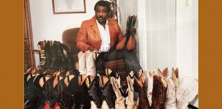 Do you remember when, Arkansas?  All of these boots belonged to Nolan Richardson