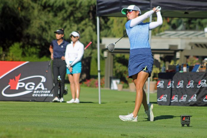 Vernon's Kyla Inaba fourth in the BC Women's Golf Championship PGA - Vernon Morning Star