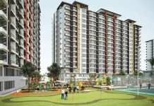 Your own putting green at Legacy Leisure Residences