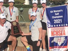Morgan Ketchum leads Reagan to NCHSAA girls' golf title    Secondary school