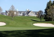 The clubhouse of Trump National Golf Club Westchester at Briarcliff Manor April 23rd 2019.