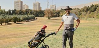 The 13th hole is a godsend for golfers in Tehran, but how long?