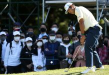 These shoes led Hideki Matsuyama to a victory in the Zozo Championship